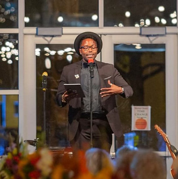 ABQ poet laureate, Hakim Bellamy photo by