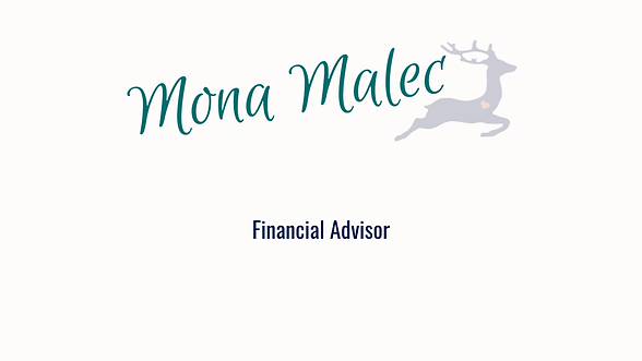 Mona Malec Financial Advisor Client Deer