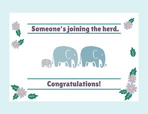 Portfolio - Graphic Design Greeting Card