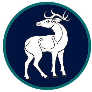 Pictish Stag icon Deer Heart Consulting