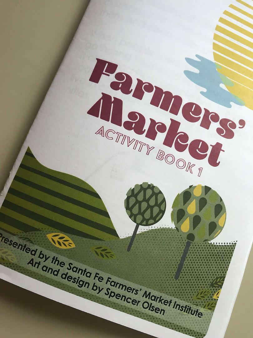 Farmers Market Activity Book, Volume 1 - Art by Spencer Olsen