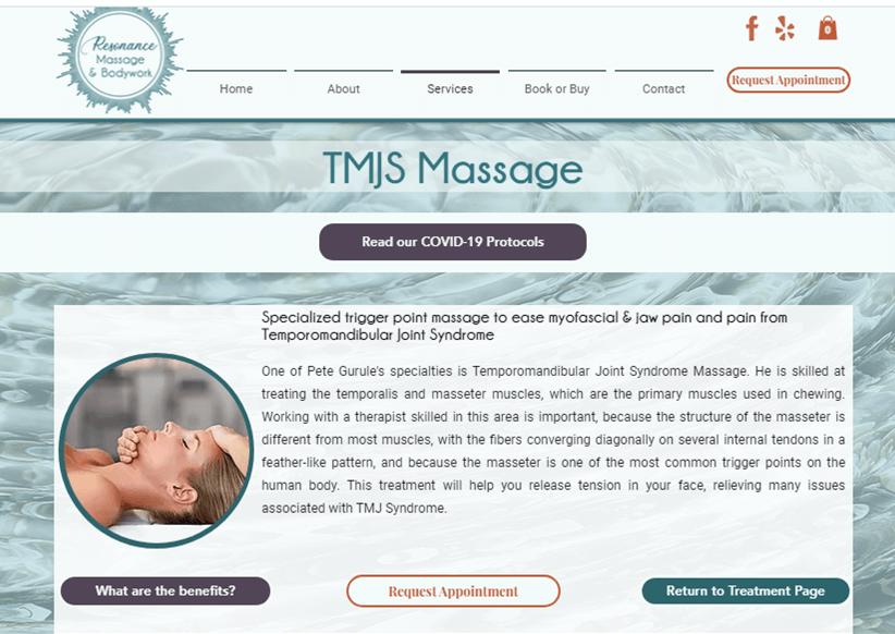 Resonance Massage (new website)