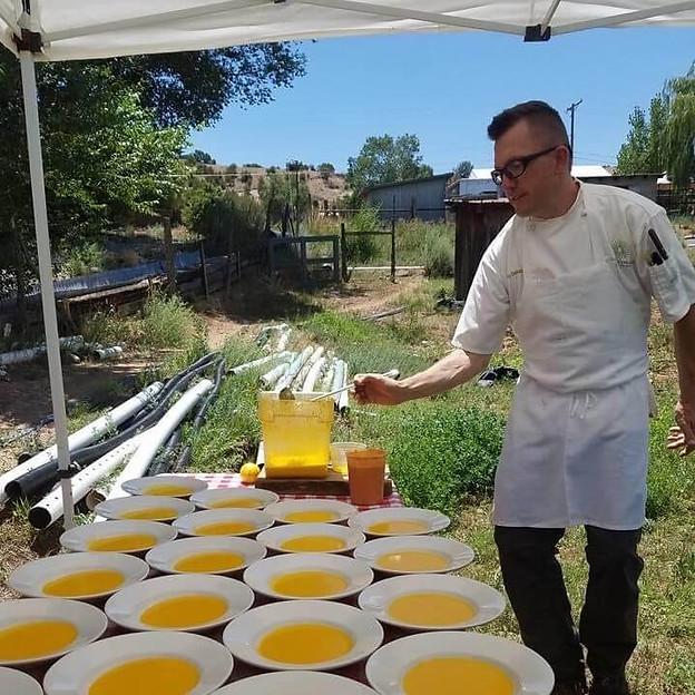 Farm Lunch with Chef Rocky Durham