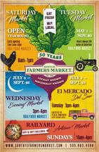 Farmers Market Poster designed by Jasmin