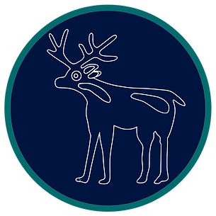Choctaw deer icon Deer Heart Consulting.