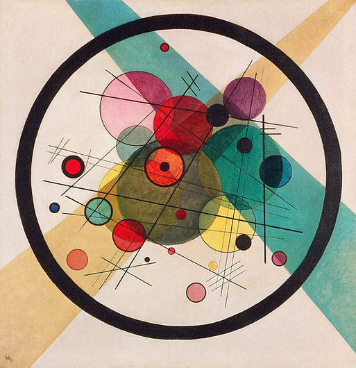 Circles-in-a-Circle-by-Wassily-Kandinsky
