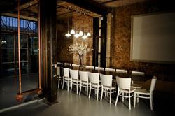 עיצוב ובניה של חדר אירועים במסעדה