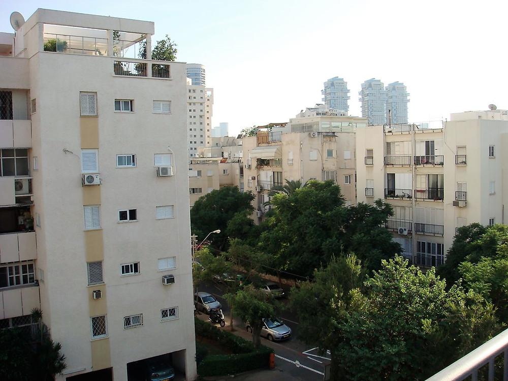 דירה למכירה ברחוב קוסובסקי ליד פארק הירקון קומה  4 מתוך 5