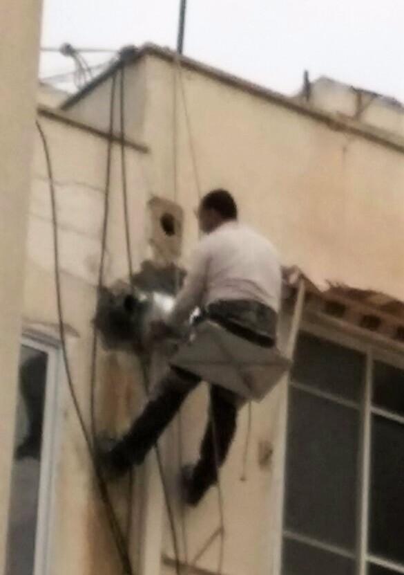 תיקון מרזב בבניין משותף בתל אביב במסגרת אחזקת הבניין וניהול ועד בית חיצוני