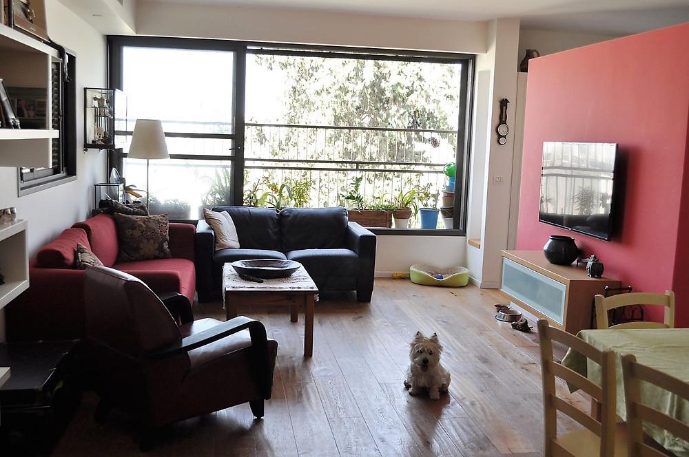 דירת 4 חדרים למכירה משופצת ברחוב עוזיאל