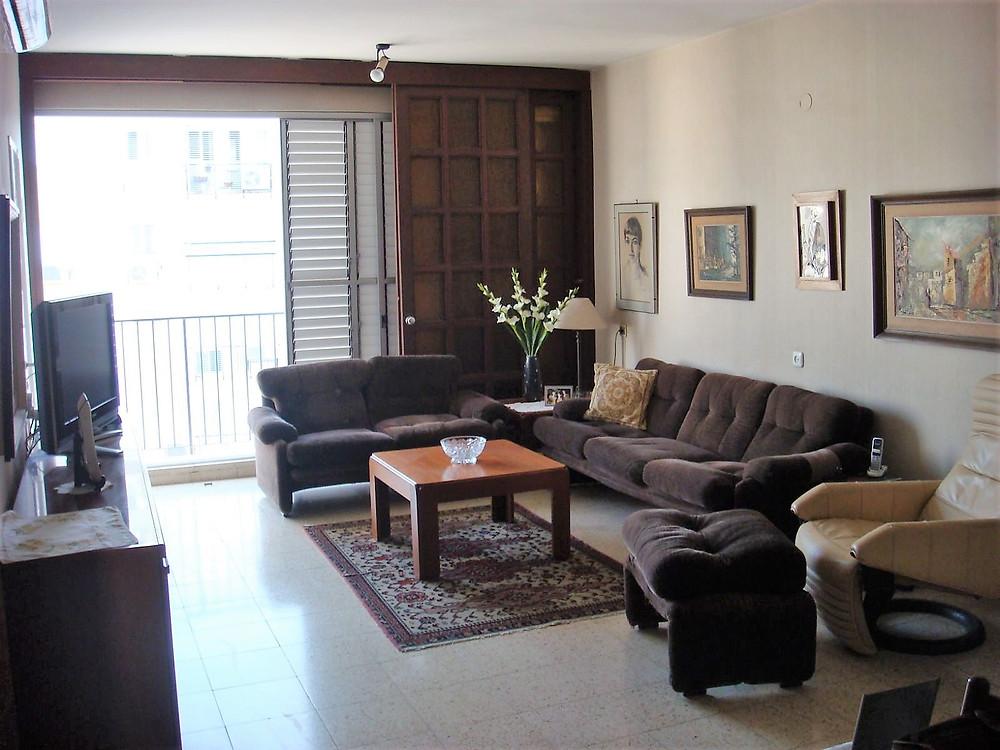דירה למכירה שלושה חדרים ברחוב קוסובסקי  בבלי ליד פארק הירקון