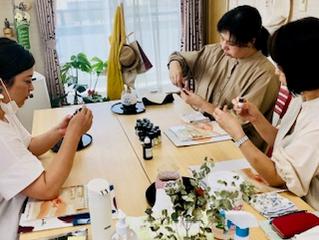 9月最後のアロマハンドセラピスト誕生!