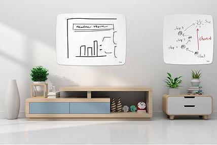 לוח זכוכית מעוצב לחדר ילדים למשרד ולבית