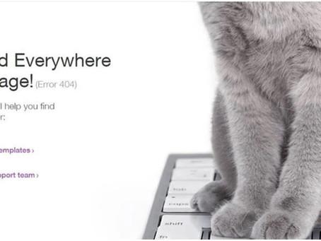 איך להפוך את הלימון ללימונדה? לכתוב מיקרו-קופי מדליק לדף 404, עכשיו אפשר גם ב-WIX!