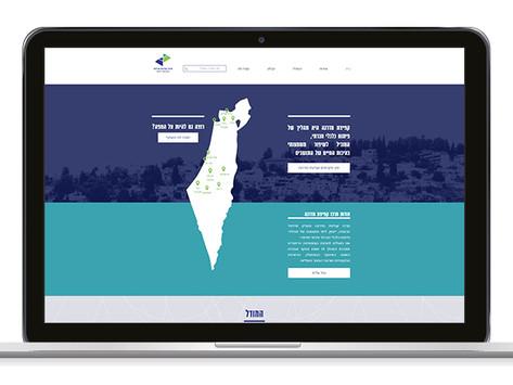 בניית אתר עם מפה וניהול תוכן לקפיצת מדרג
