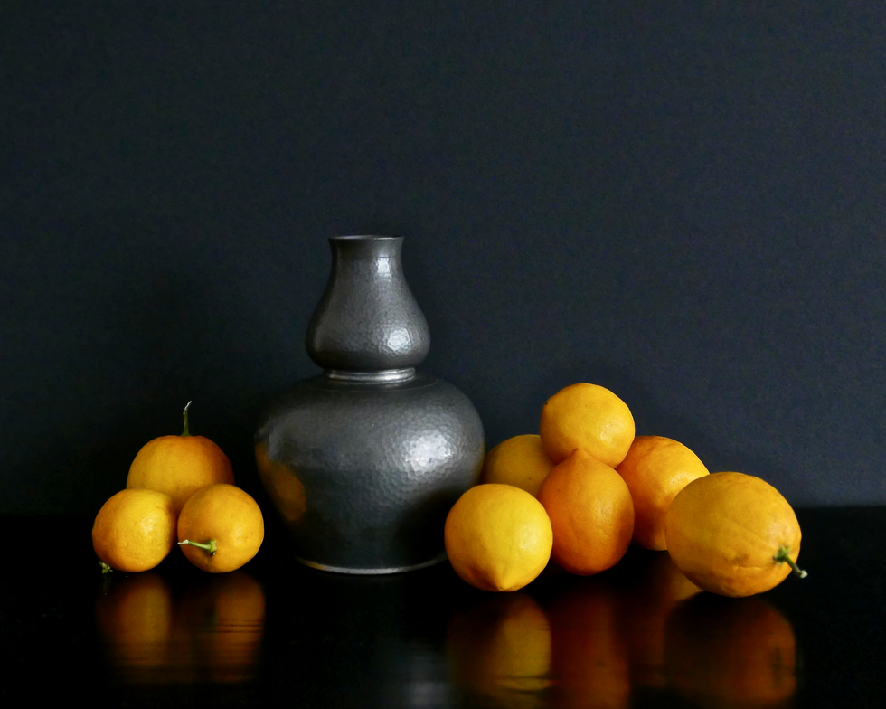 Pewter and Lemons East Light
