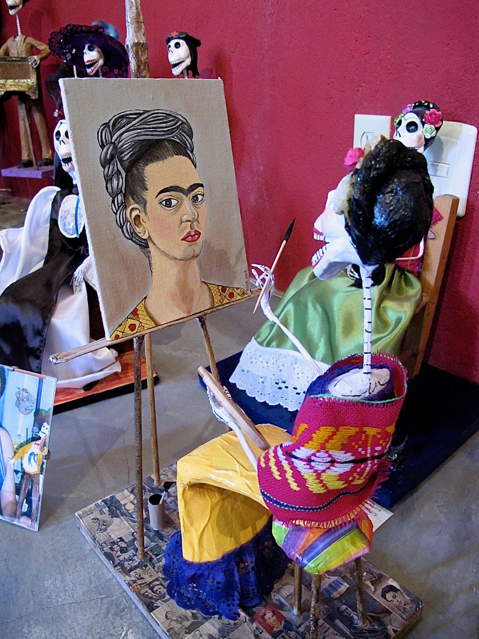 Frida, Gallery Ototonilco