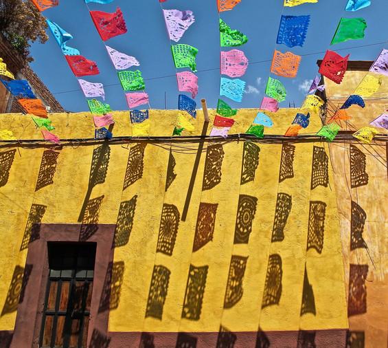 Papel Picados, San Miguel de Allende