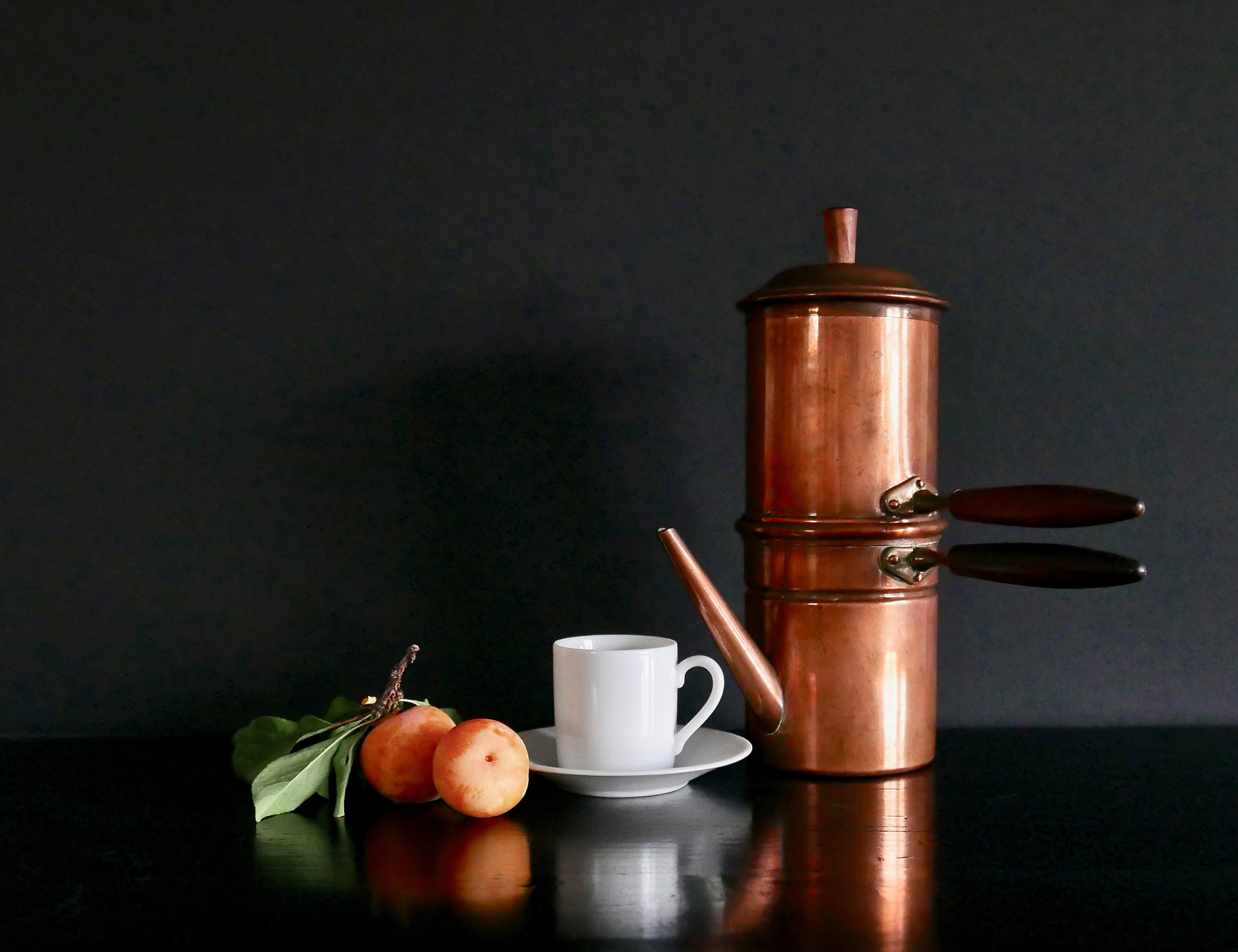 Copper Italian Coffee 1