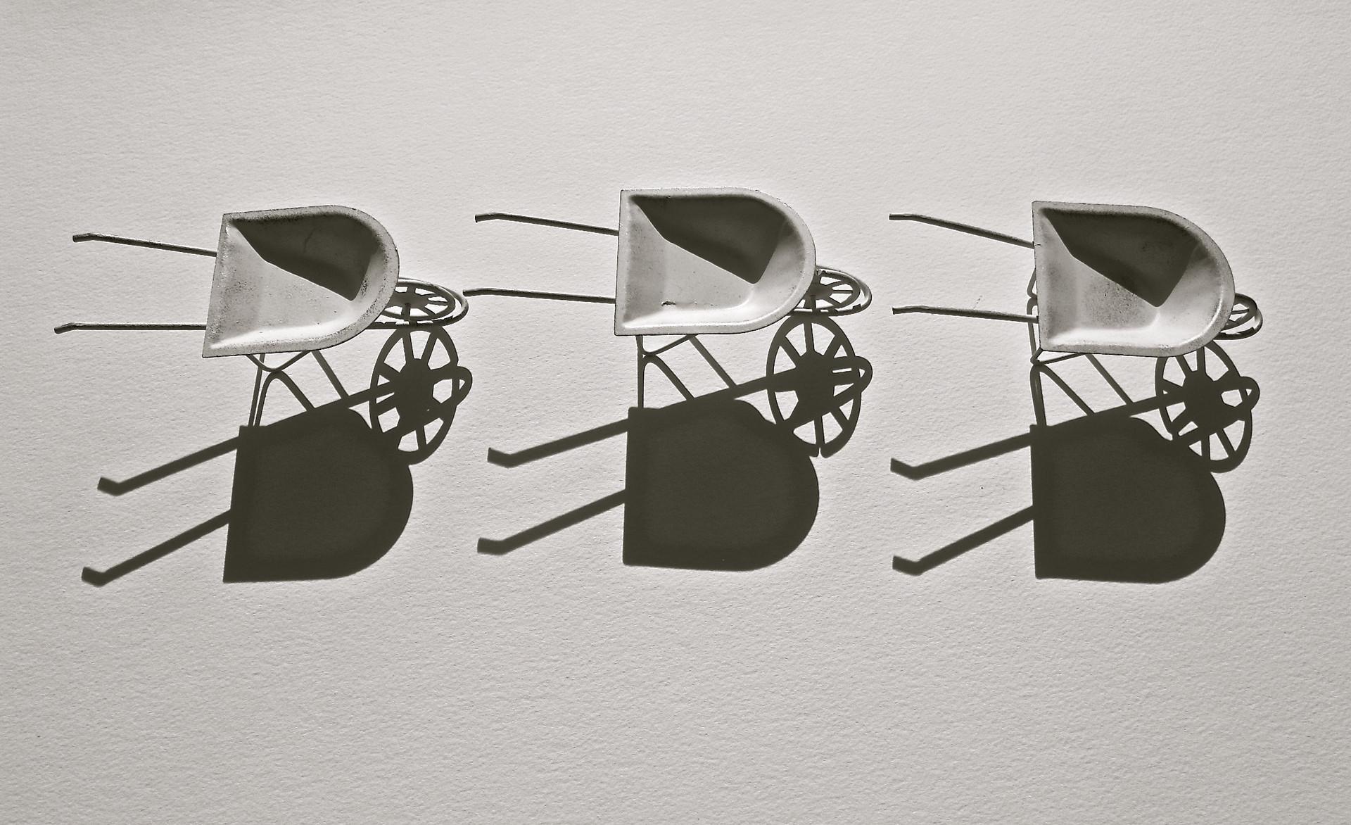 3 Wheelbarrows 1