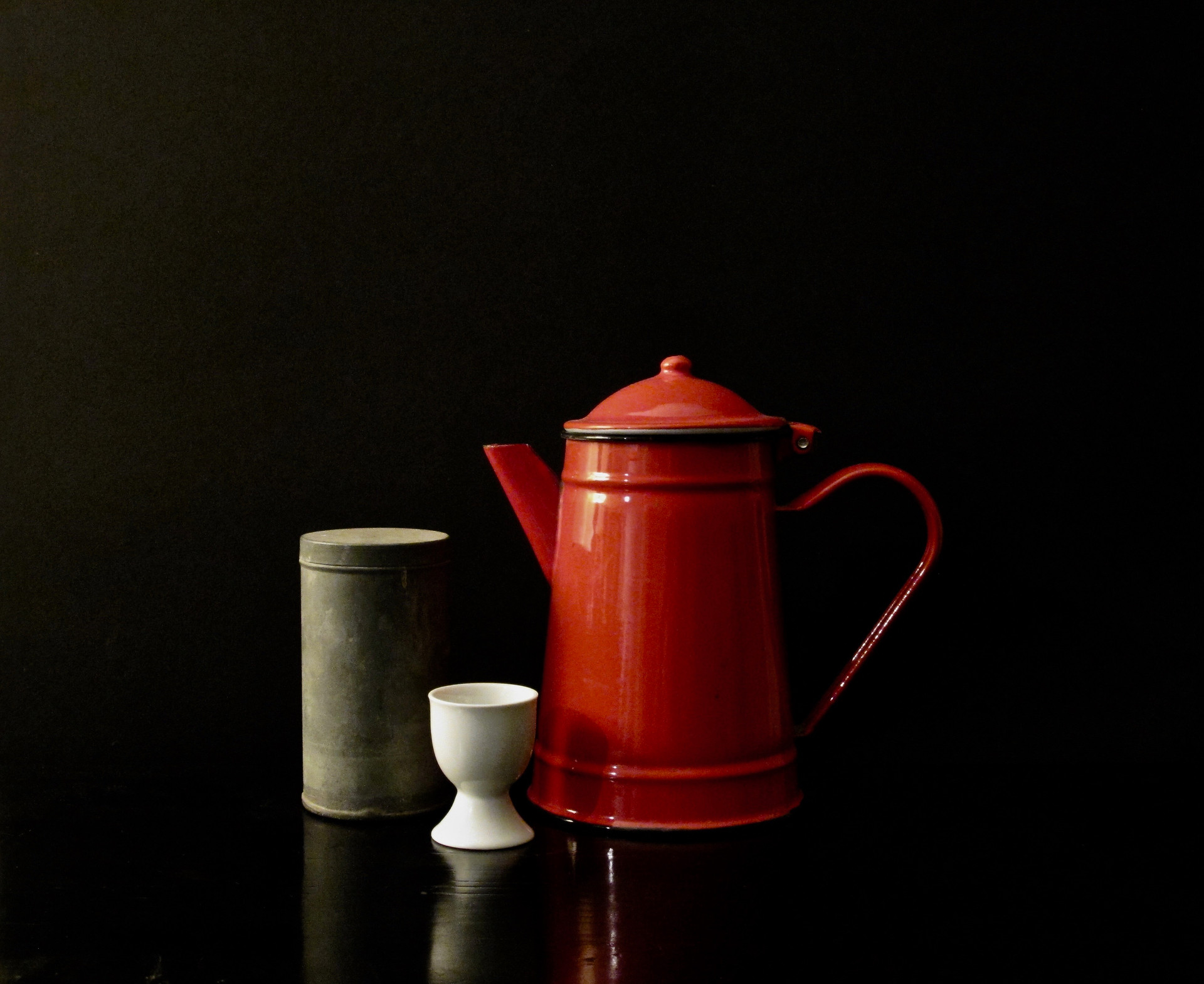 Red Pot Trio 1