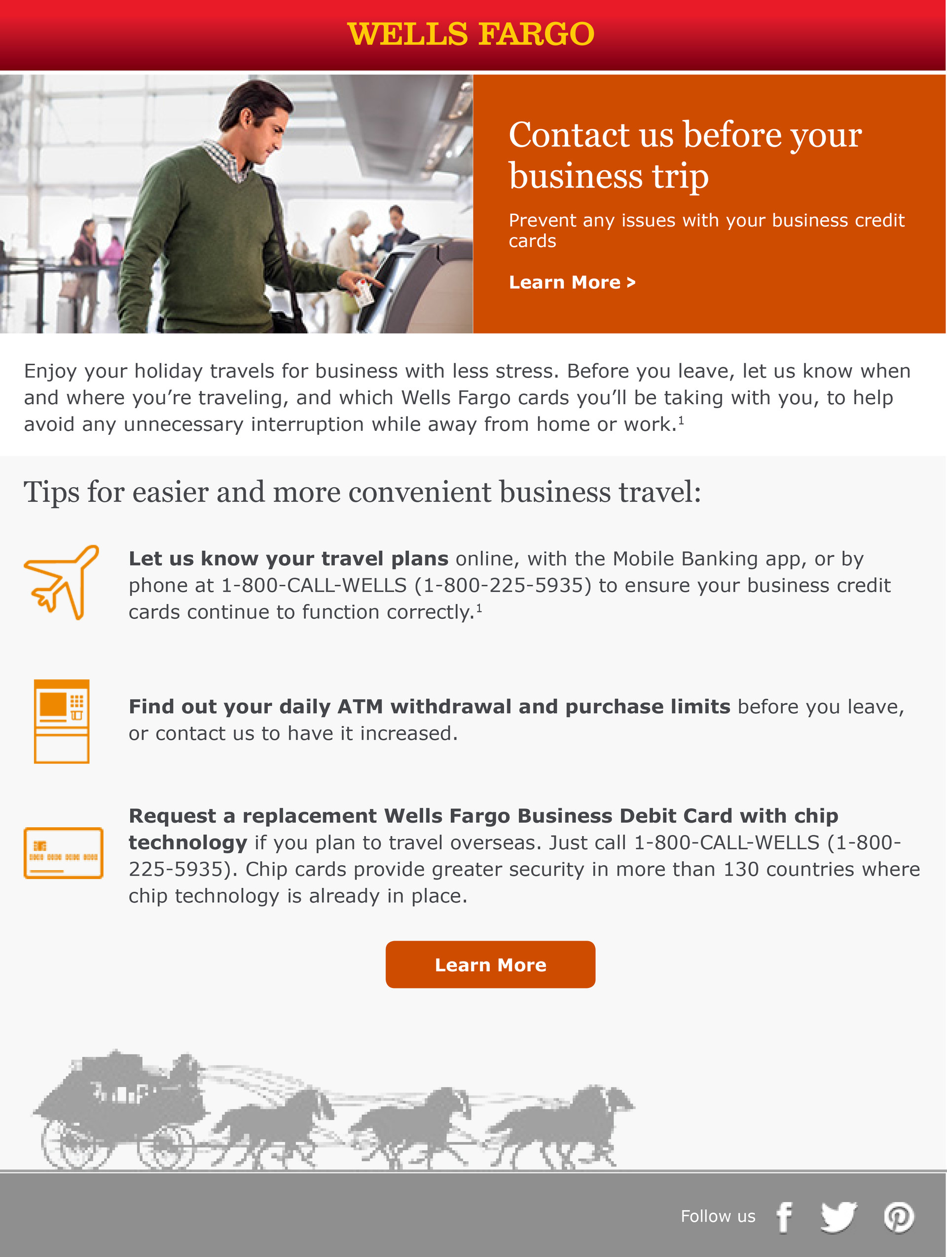 Wells Fargo Small Business Email
