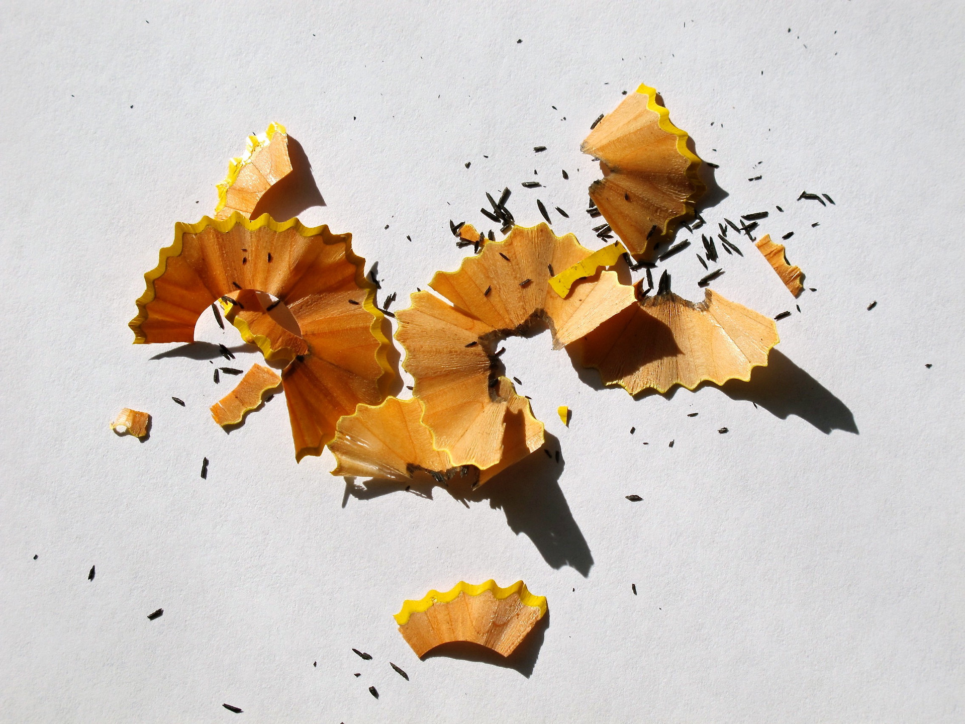 Pencil Shavings Yellow