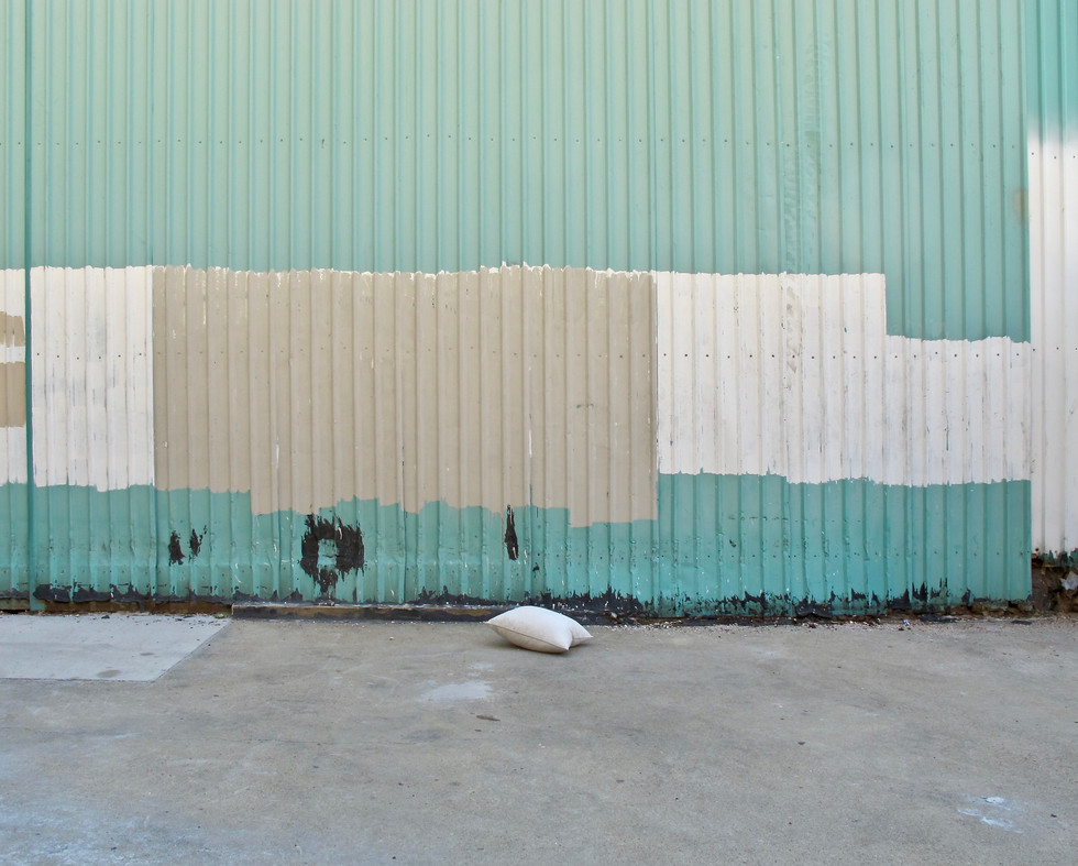 Pillow In Alley