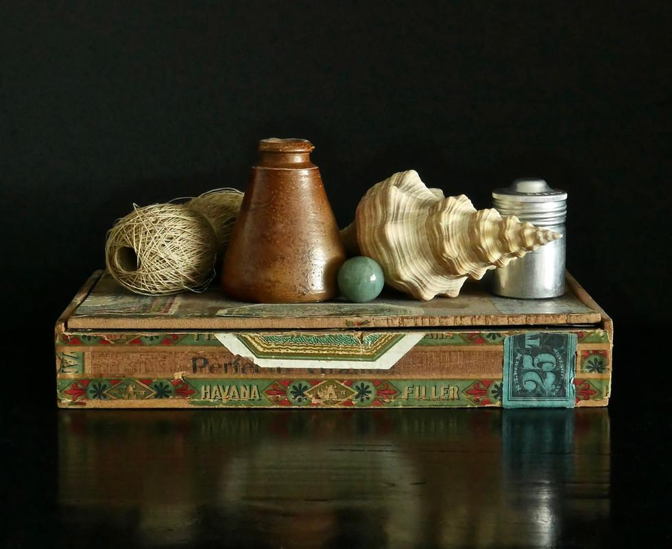 Cigar Box Still Life #1