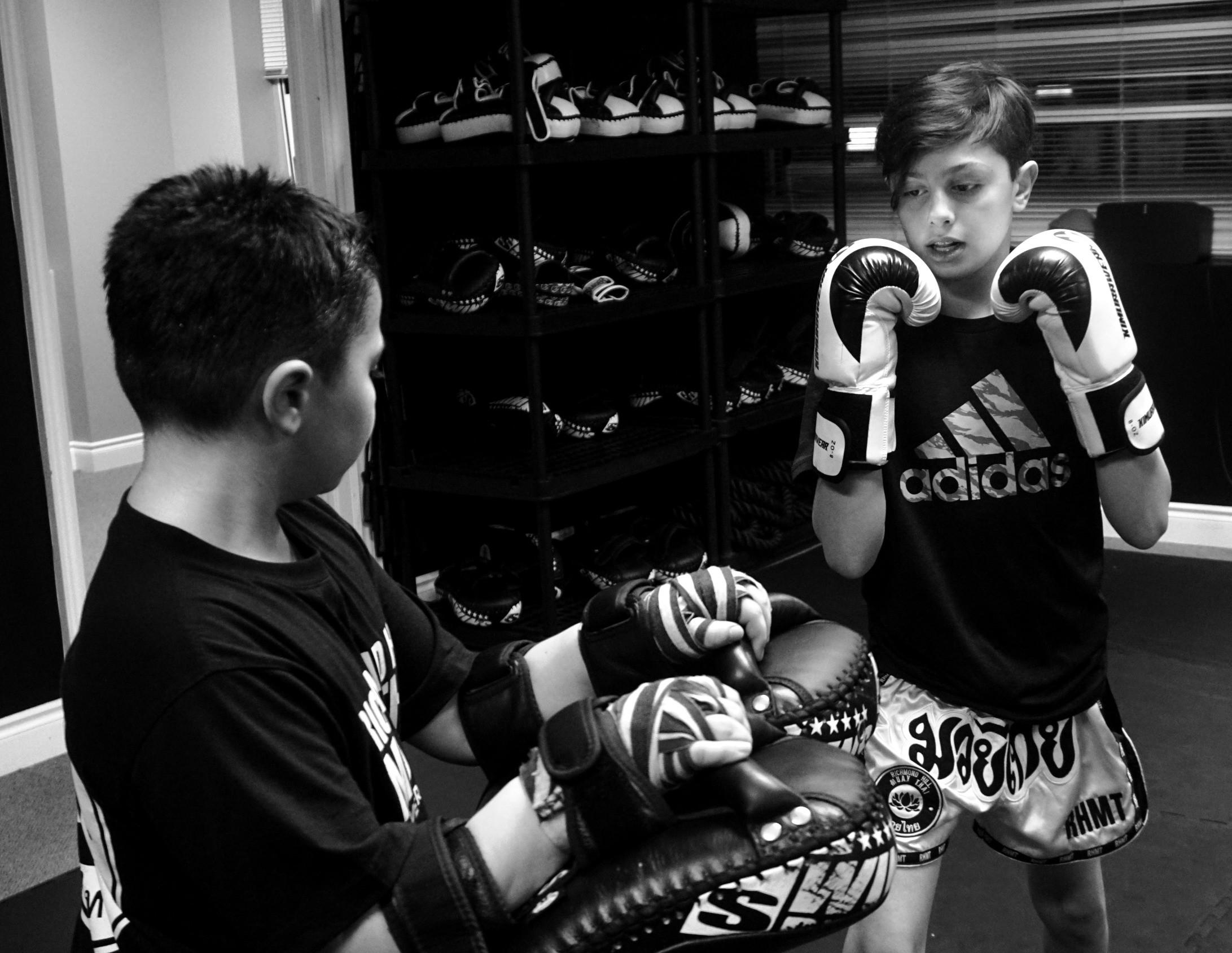 Teens Muay Thai