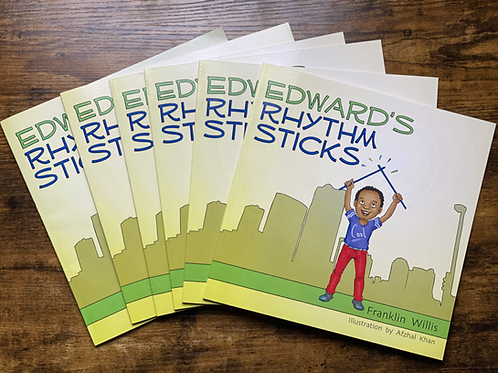 Edward's Rhythm Sticks (Paperback Book)