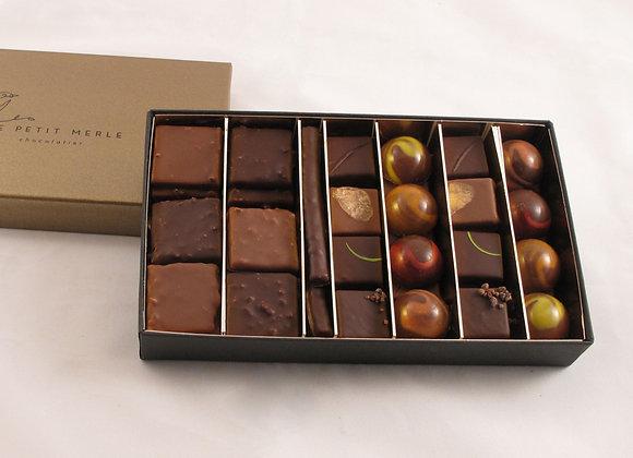 Coffret de 54 chocolats