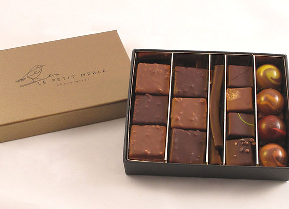 Coffret de 38 chocolats
