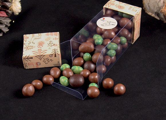Fruits secs enrobés de chocolat
