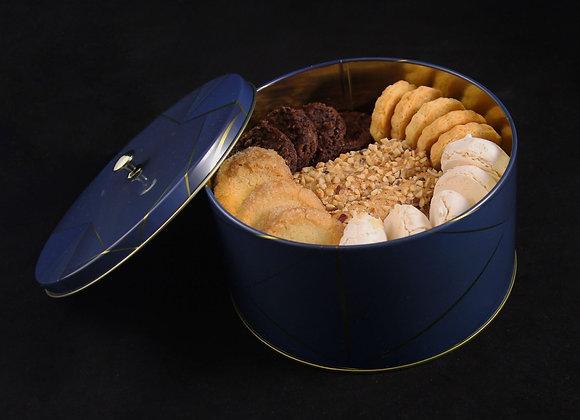 Boite de biscuits secs