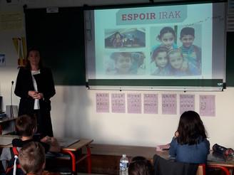 Espoir Irak oeuvre pour les Chrétiens d'Orient