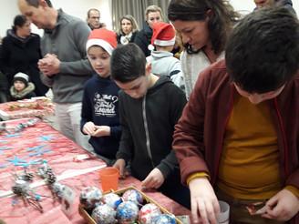 Un marché de Noël pédagogique