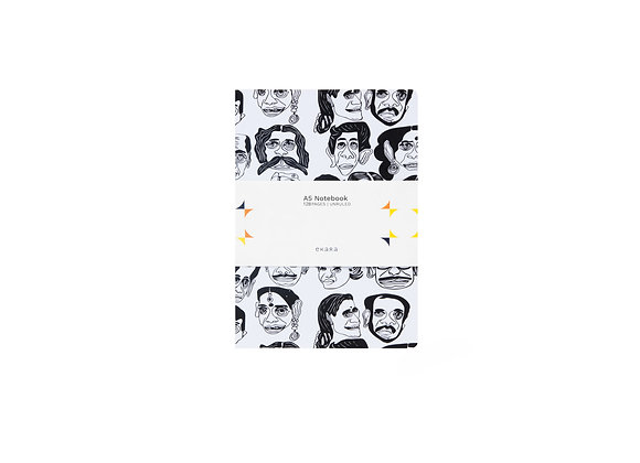 Faces A5 Note Book