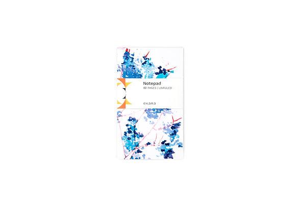 Cherry Blossom (Blue) Note Pad