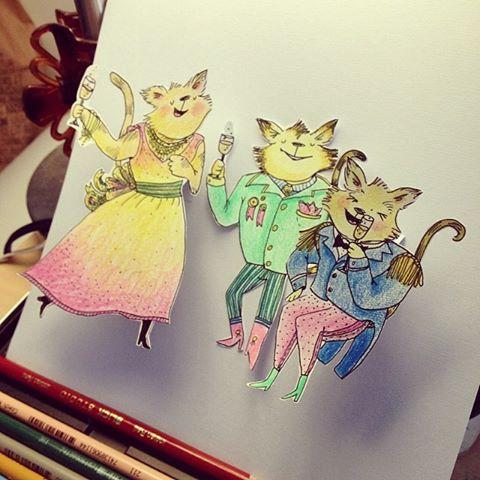 Fancy Cat Party (pop-up)