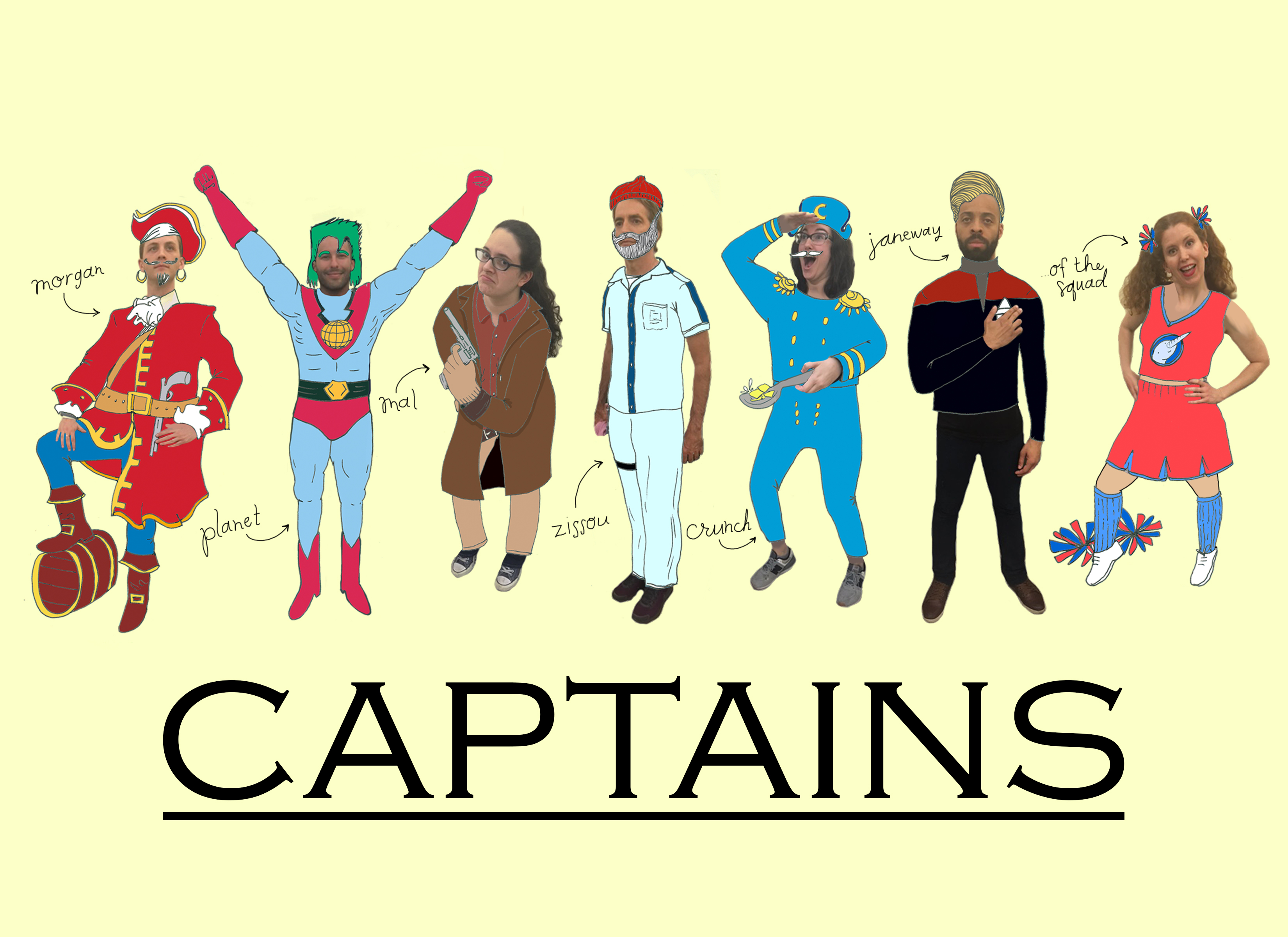 Team Poster: Captains