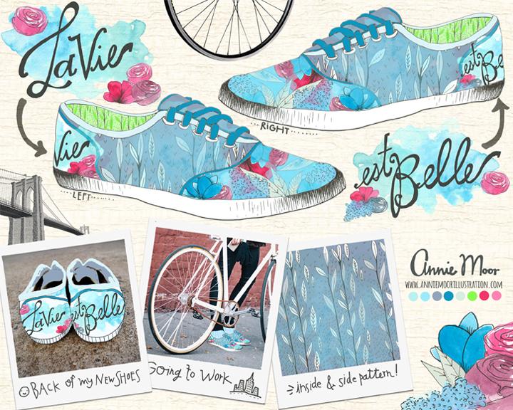 Shoe Design Mockup