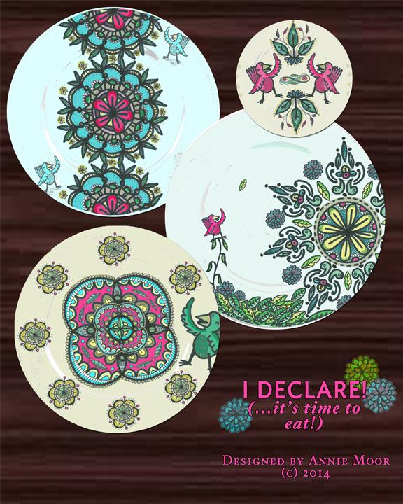 Plate Design Mockup
