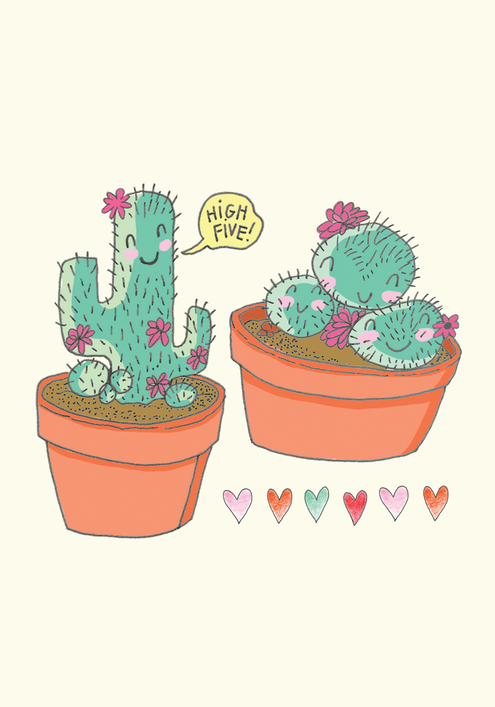 High-Five Cactus