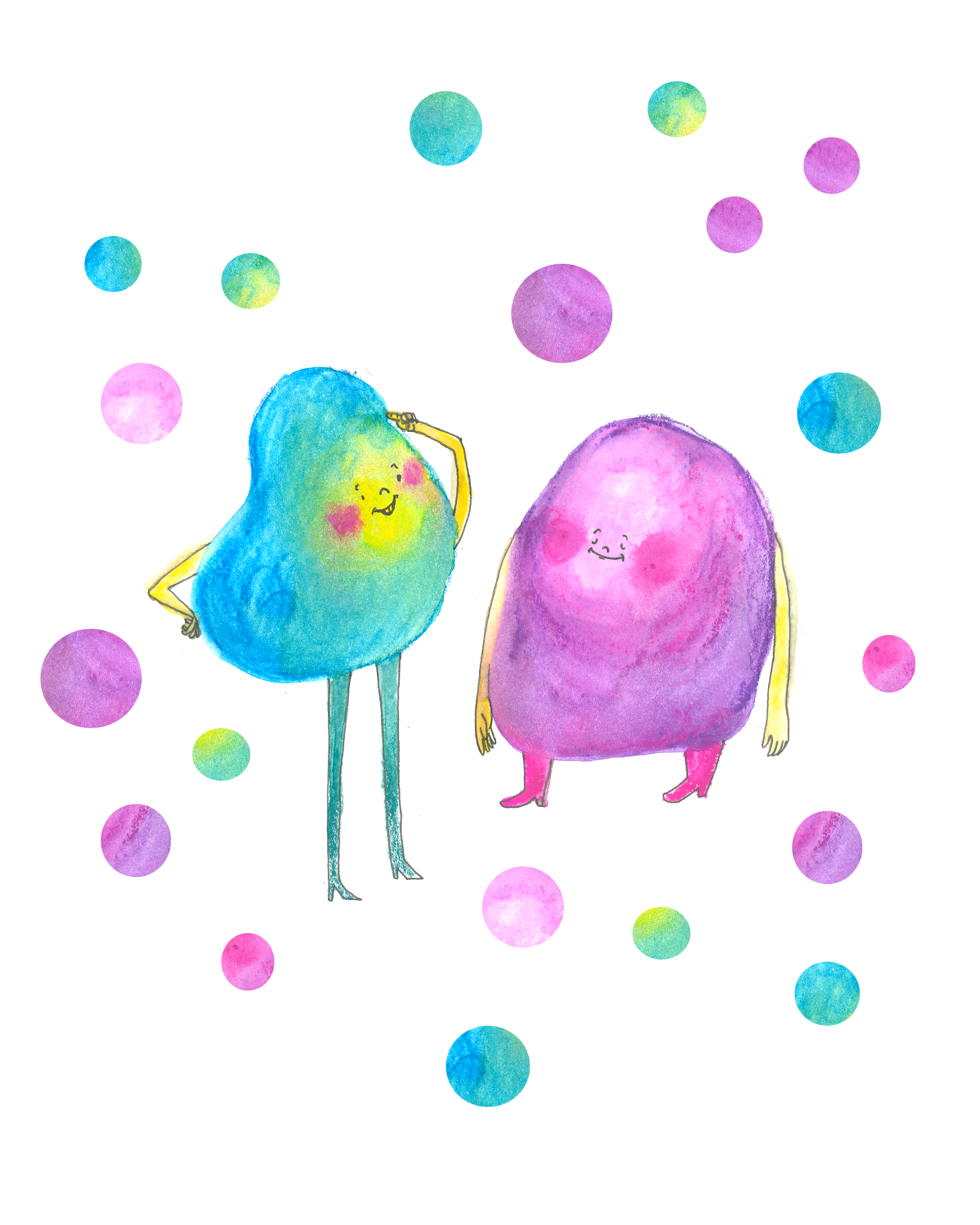 Pear and Purple