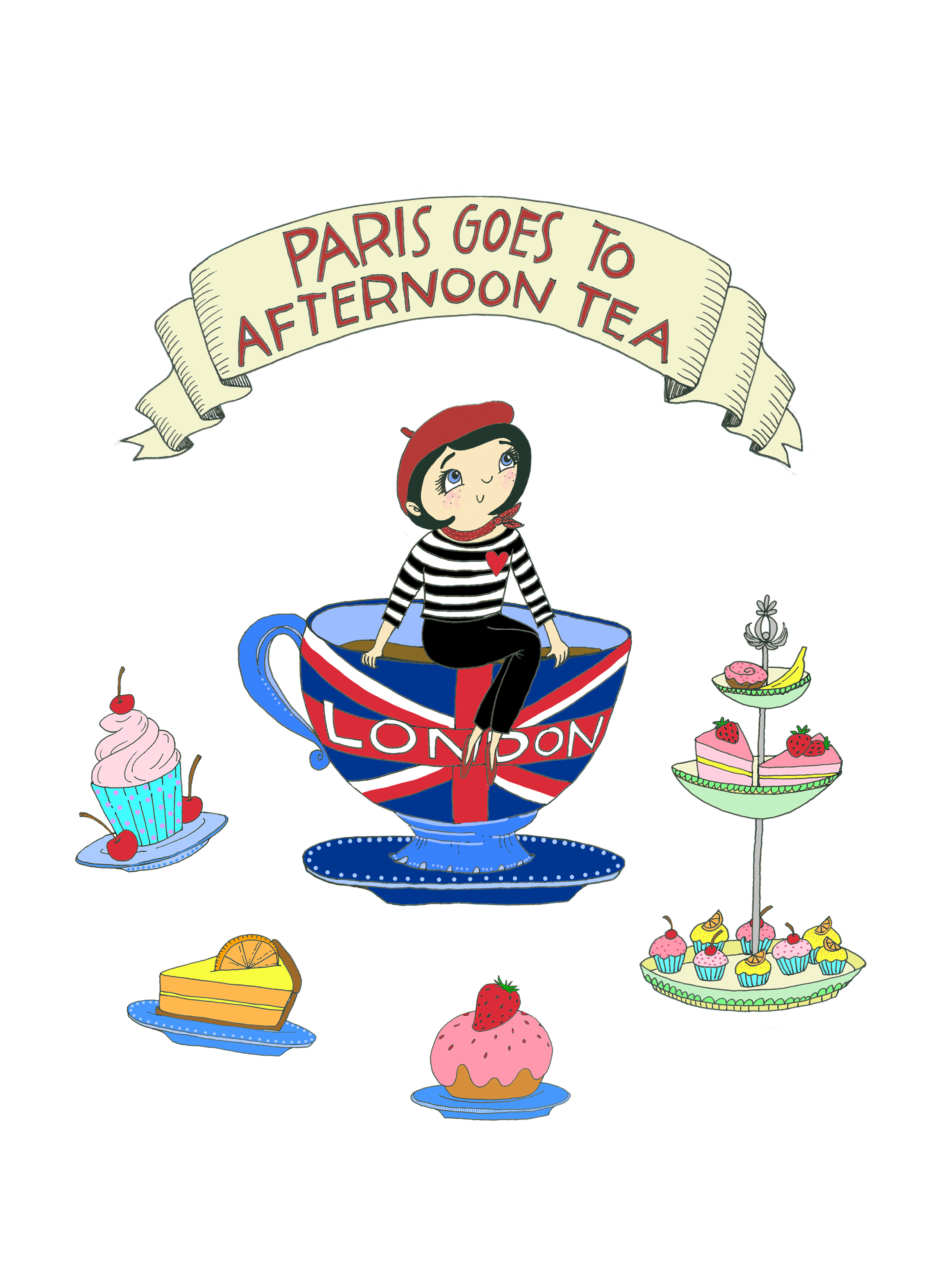Paris Goes to Afternoon Tea