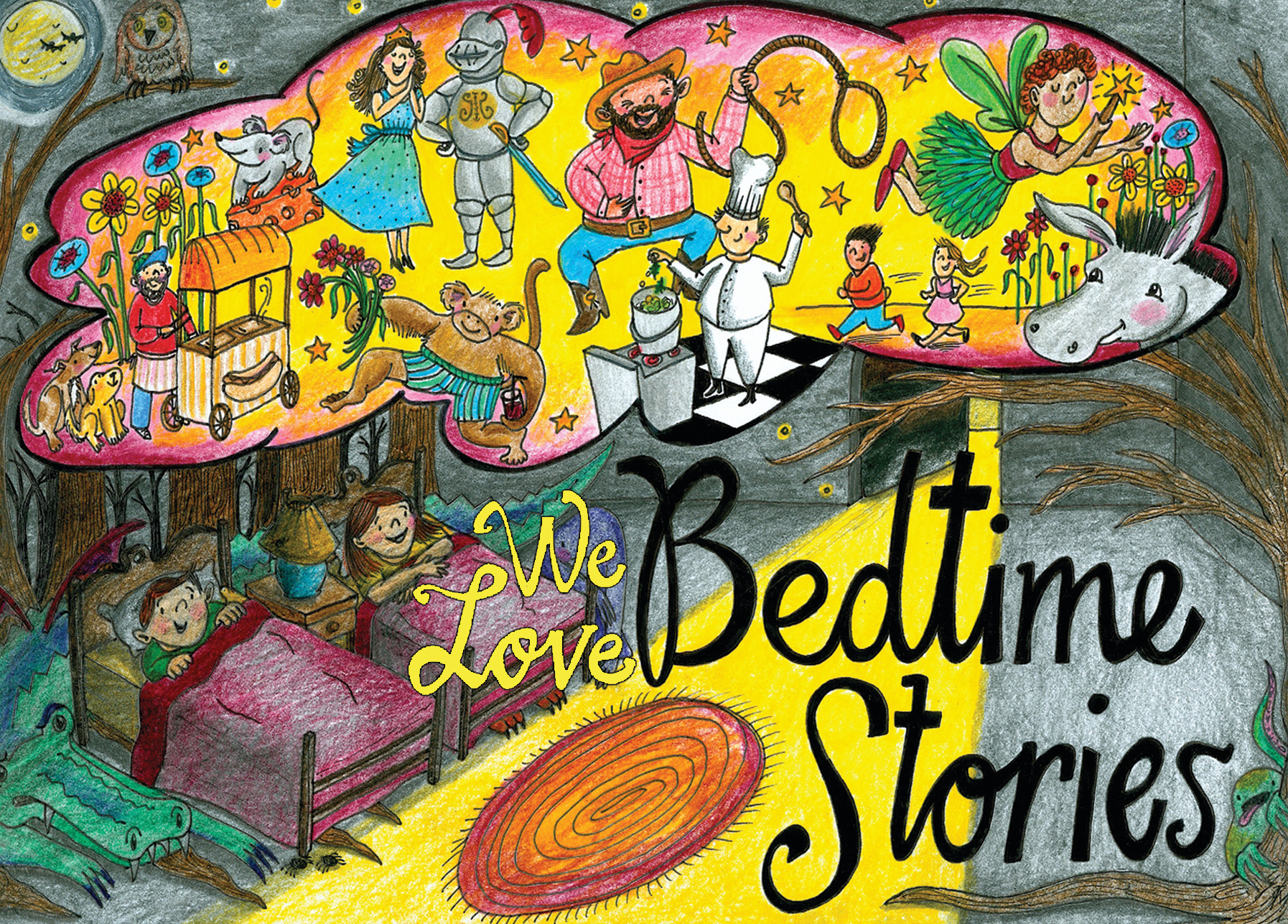 Cover of Bedtime Stories