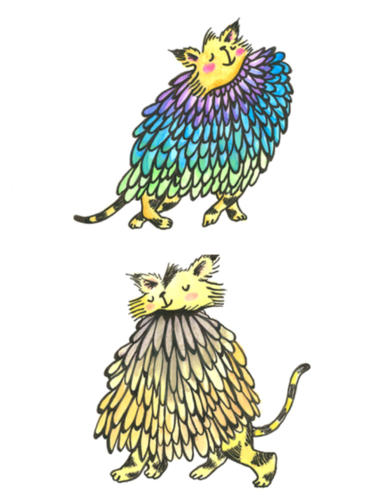 Feathered Cats