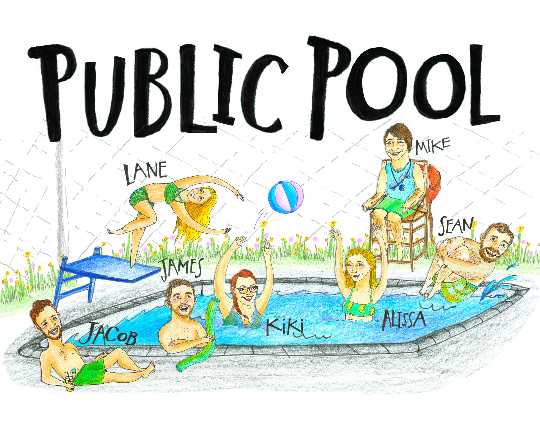 Team Poster: Public Pool