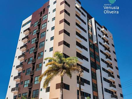Plataforma Engenharia entrega Edf. Venusia Oliveira para os futuros moradores, em Maceió - Jun 2021